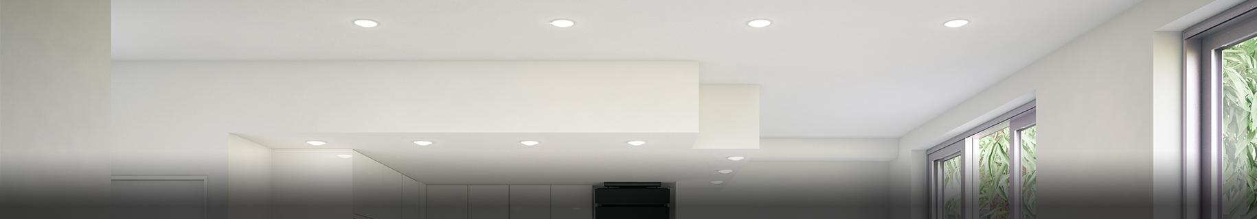 LED Einbaustrahler und Einbauleuchten entdecken