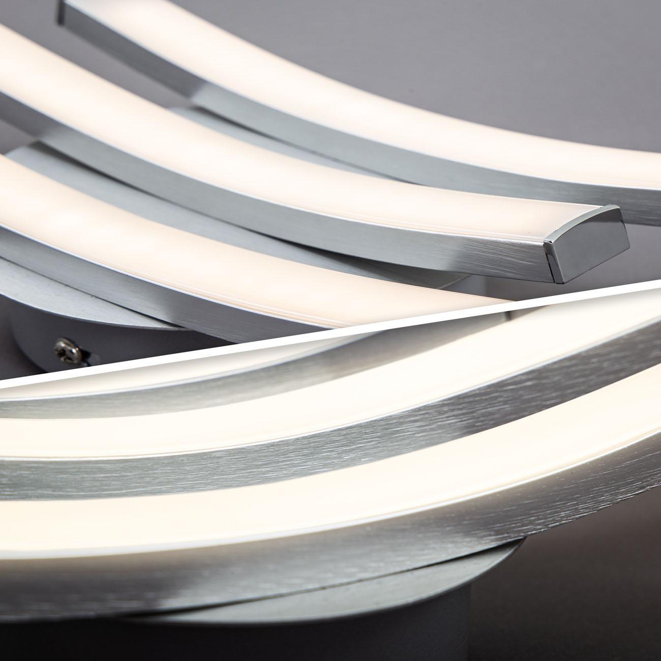 LED Design Deckenleuchte in Wellenform - 5