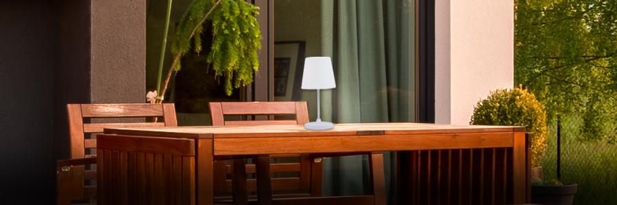 Tischleuchten für den Balkon und Terrasse entdecken
