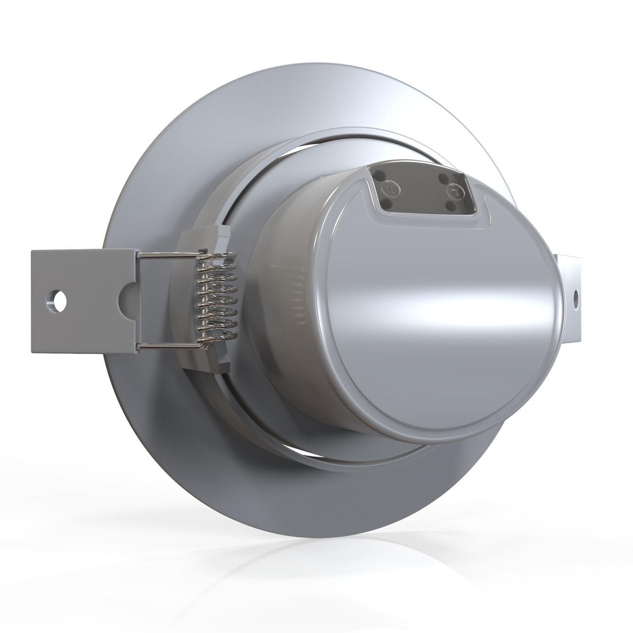 LED Einbaustrahler   Einbauleuchte 5er SET   5W warmweiß - 4