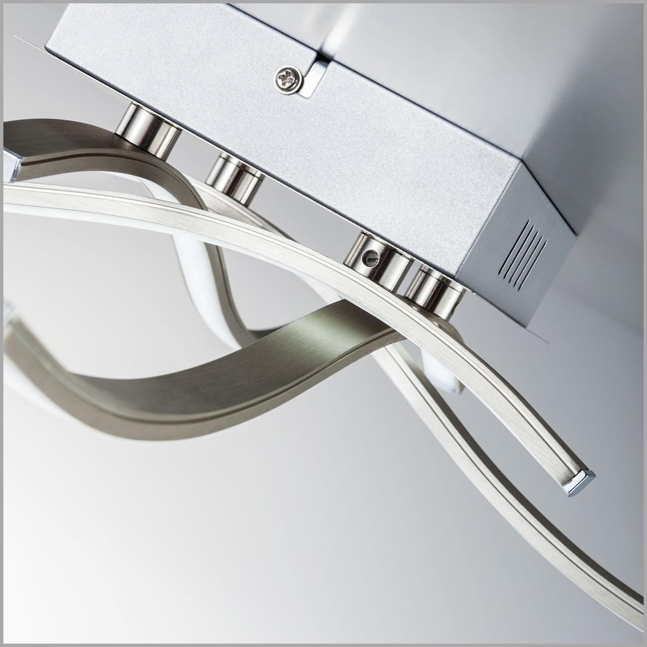 LED Design Deckenleuchte Wellenform 4-flammig  - 6