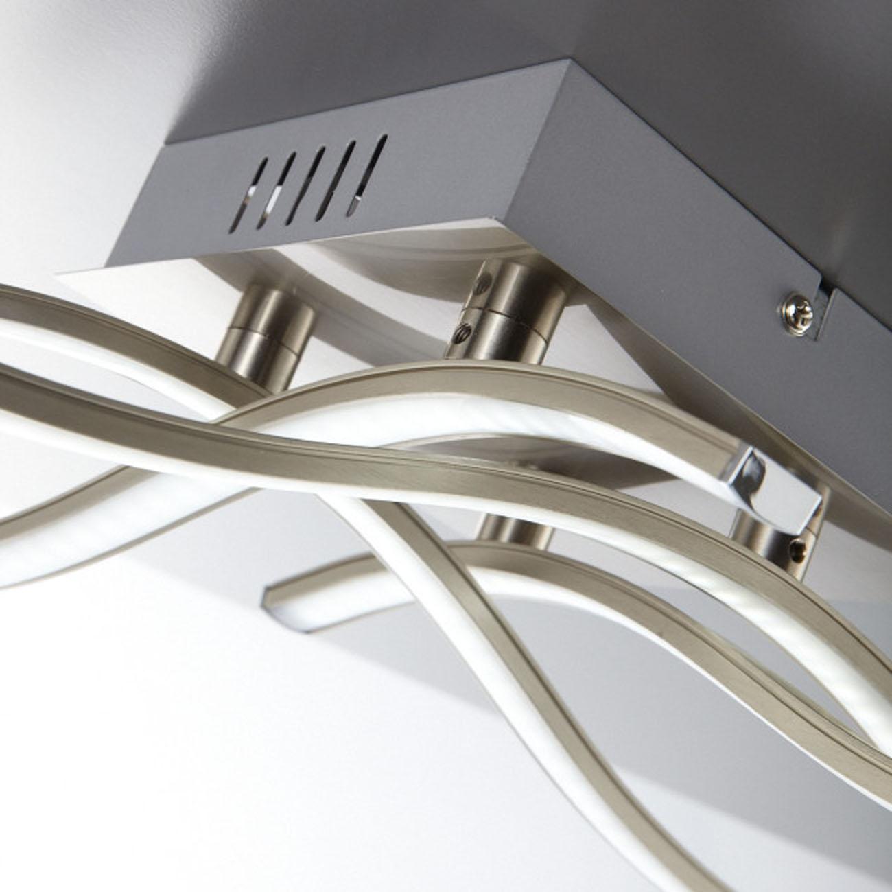 LED Design Deckenleuchte Wellenform 4-flammig  - 5