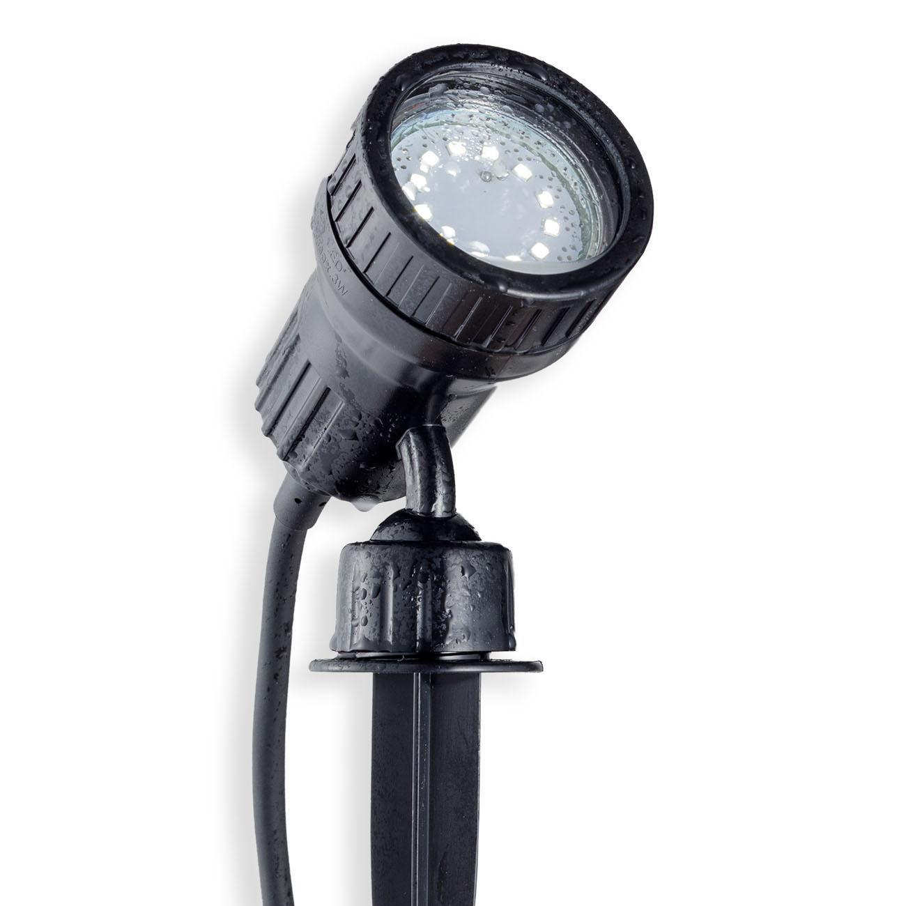 LED Erdspieß Gartenstrahler IP44