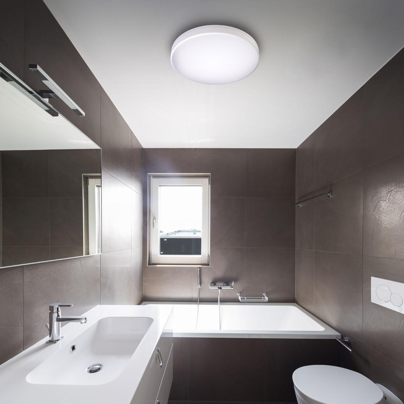 LED Deckenleuchte Badlampe IP54 L