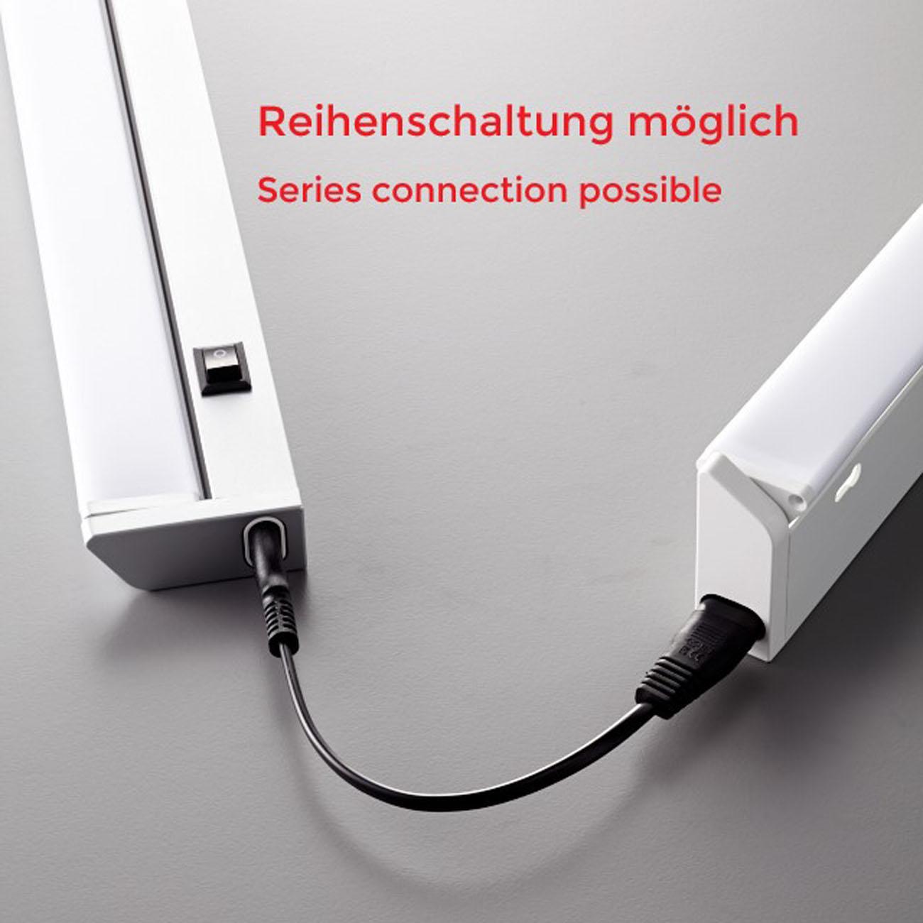 LED Schrankleuchte Unterbauleuchte silber-grau - 8