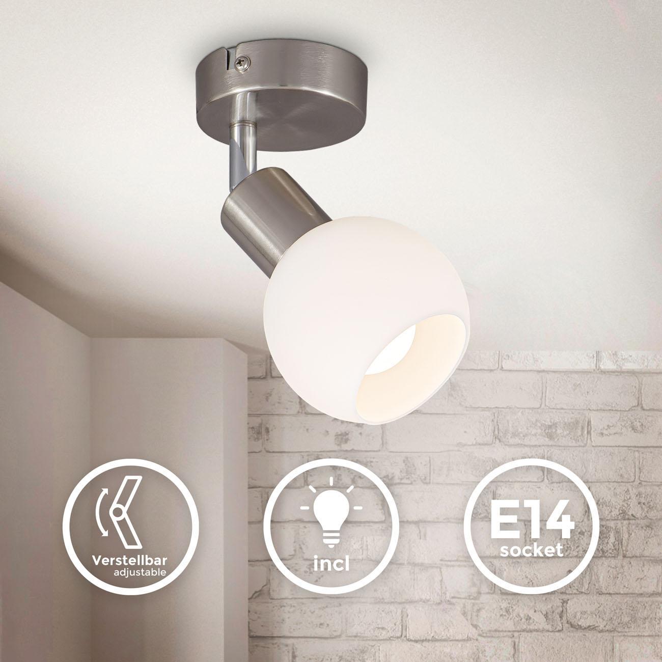 LED Deckenstrahler Deckenspot mit Opalglas - 3