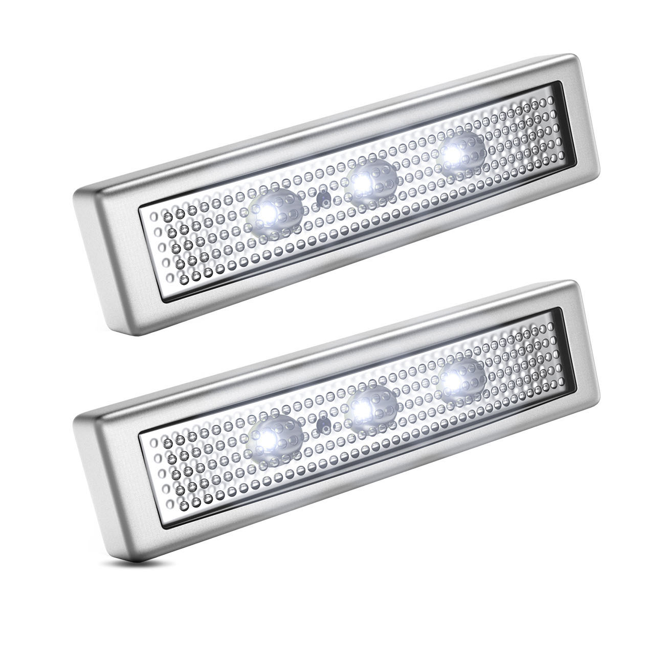 LED Push-Light mit Batteriebetrieb | 2er Set - 1