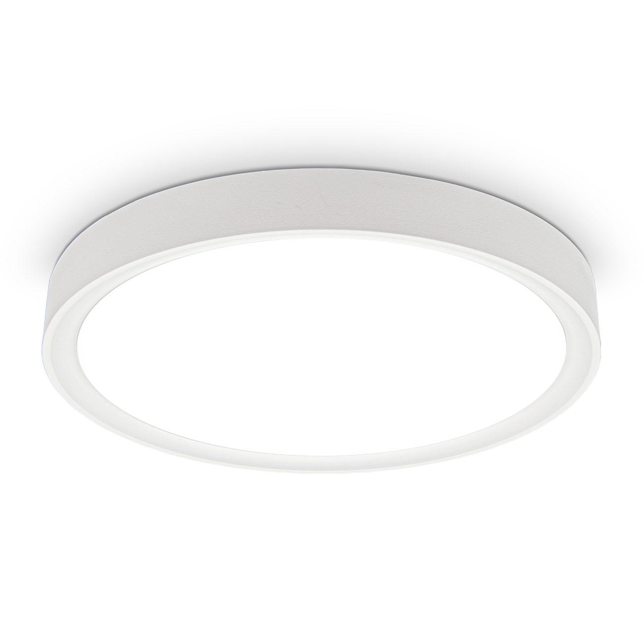 LED Deckenlampe neutralweiß rund