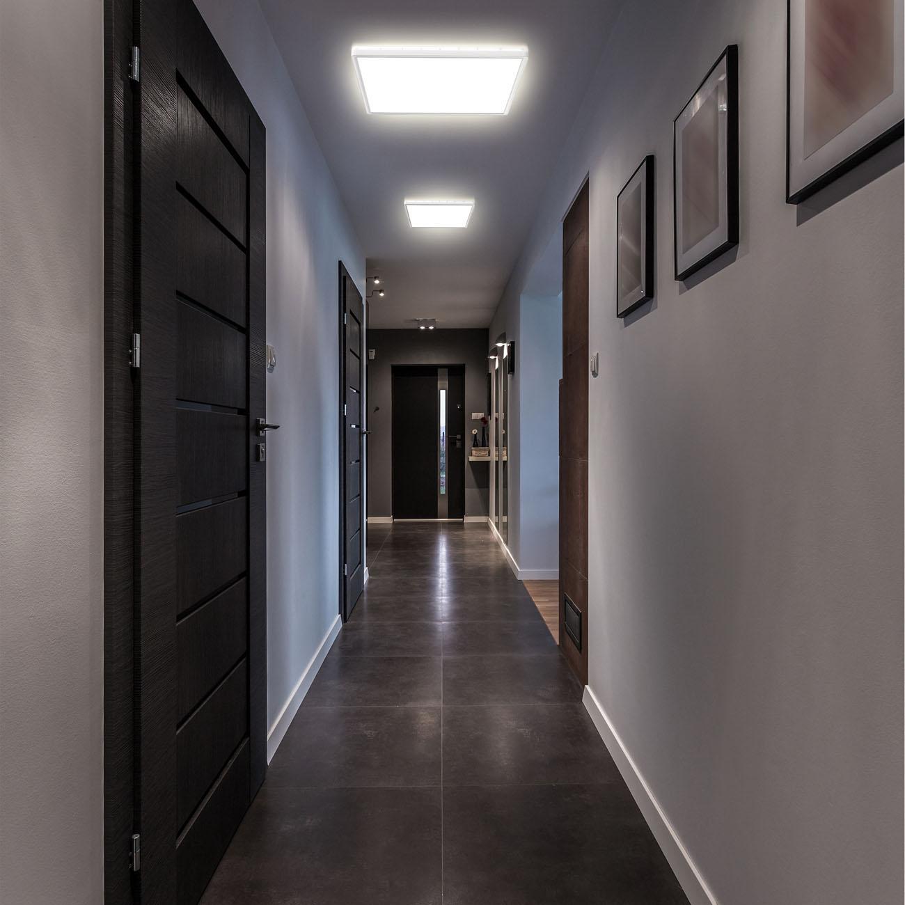 LED Panel mit Backlight-Effekt ultra-flach weiß XL - 7