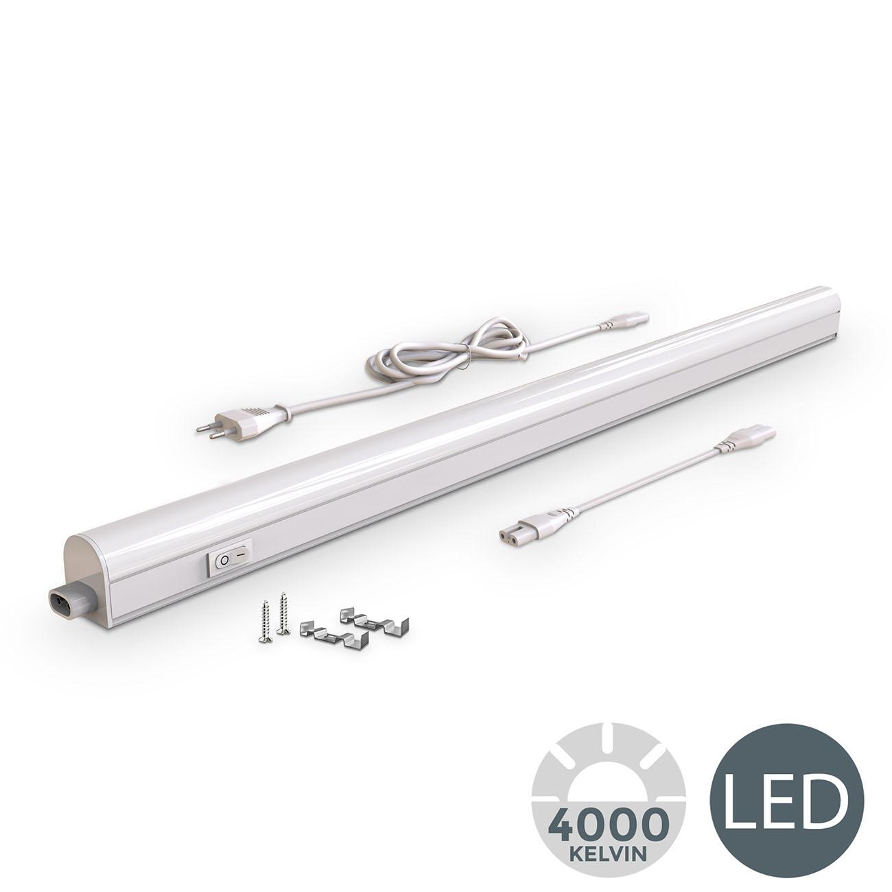 LED Unterbauleuchte mit Verbindungskabel weiß L - 3
