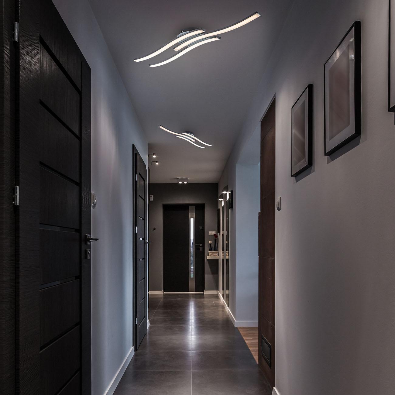 LED Design Deckenleuchte in Wellenform - 2