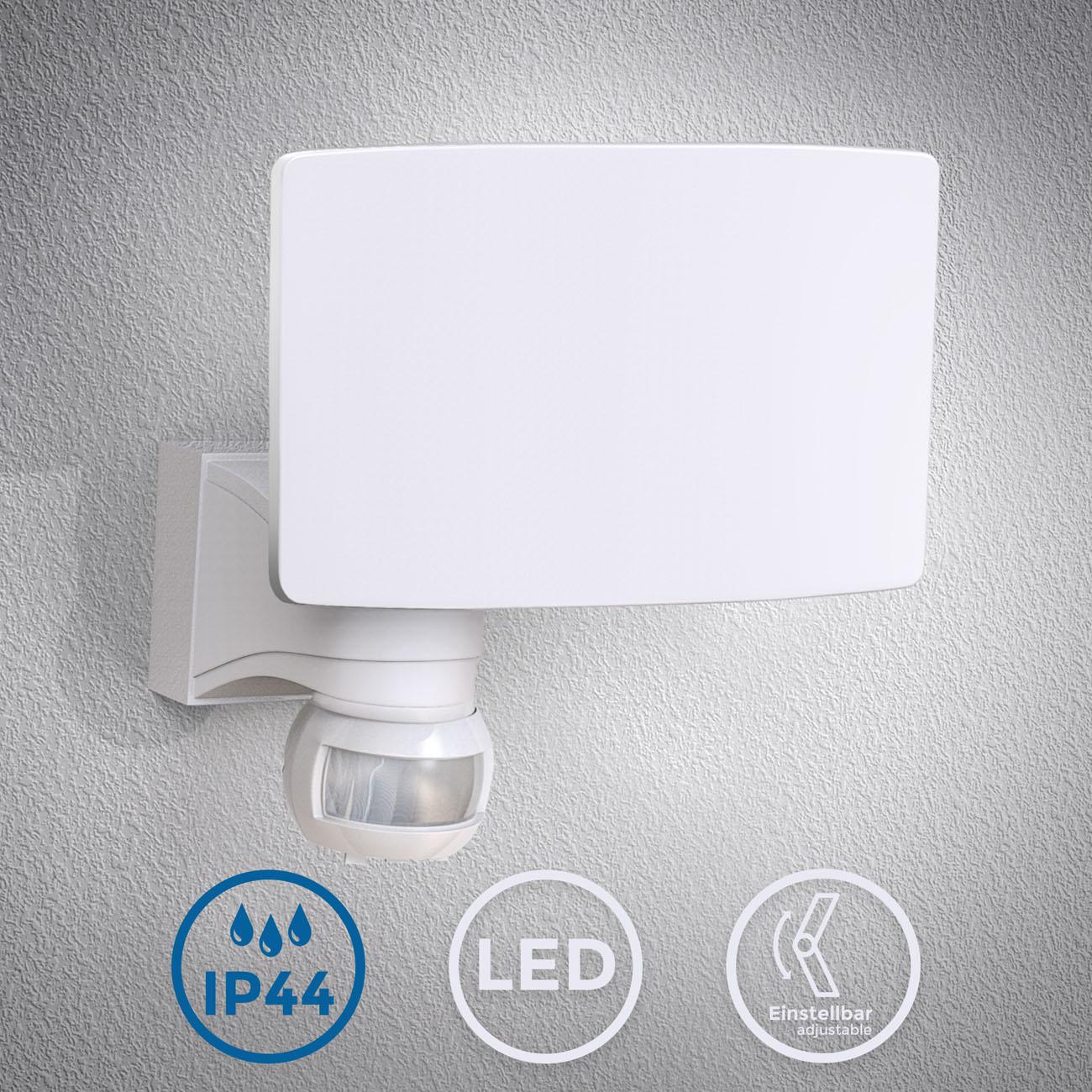 LED Außenleuchte mit Bewegungssensor weiß - 3