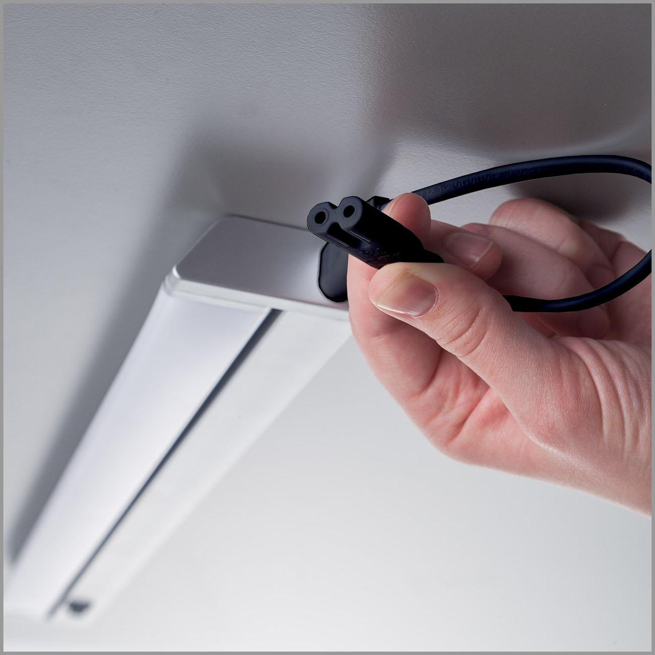 LED Schrankleuchte Unterbauleuchte silber-grau - 4