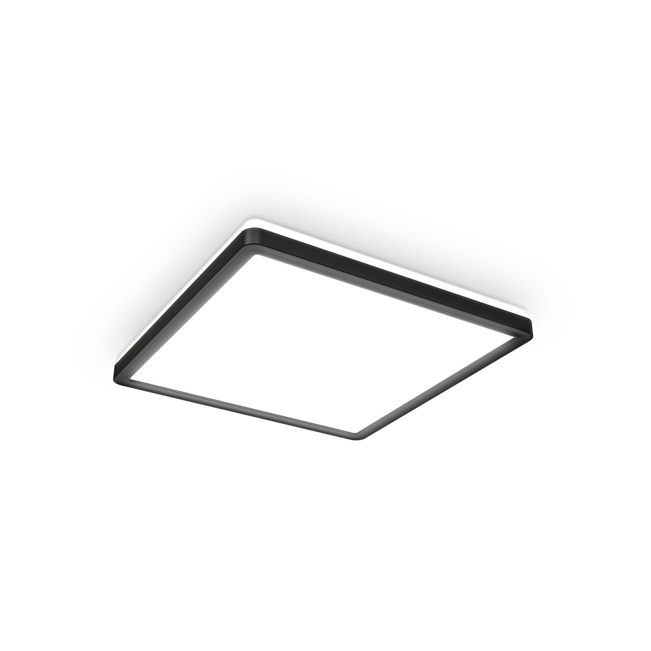 LED Panel mit Backlight-Effekt ultra-flach schwarz - 1