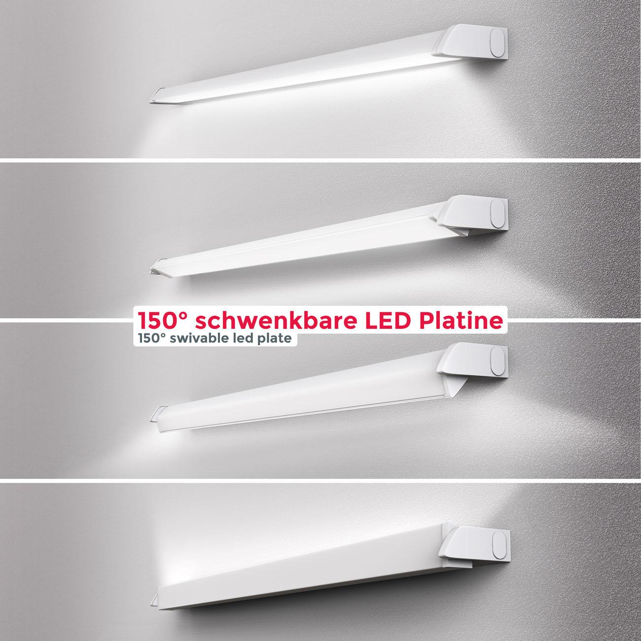 LED CCT Lichtleiste Unterschrankleuchte weiß - 5