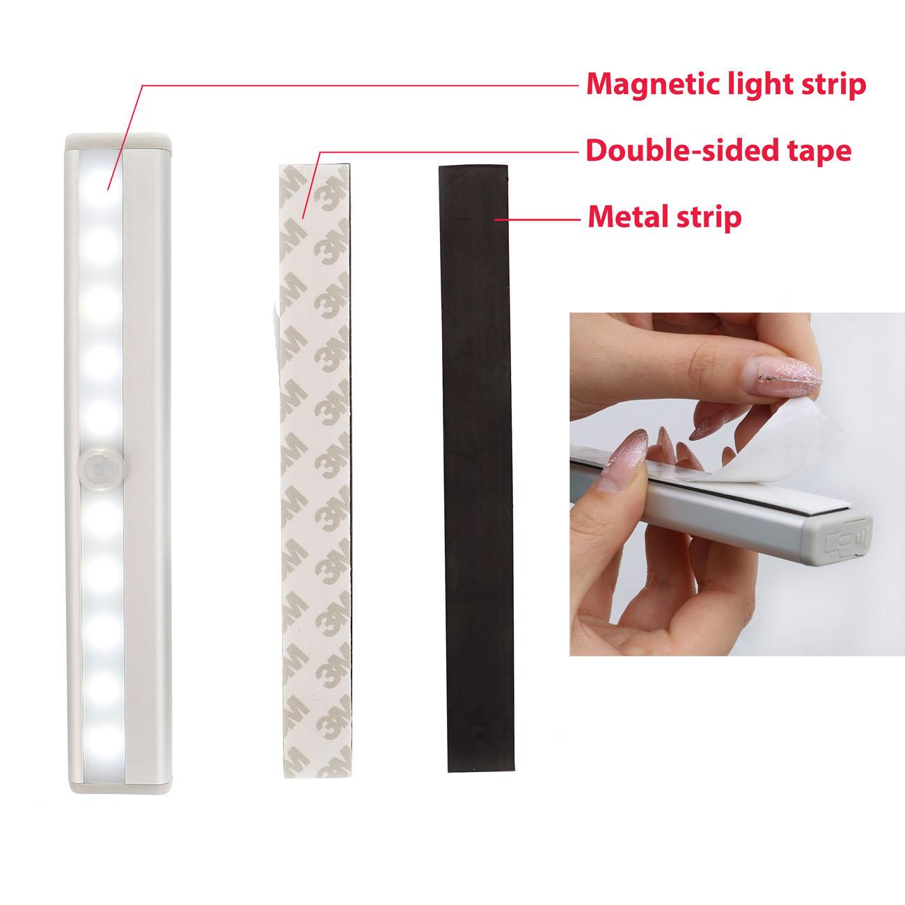 LED Schranklicht Nachtlicht mit Bewegungsmelder | 2er Set - 5