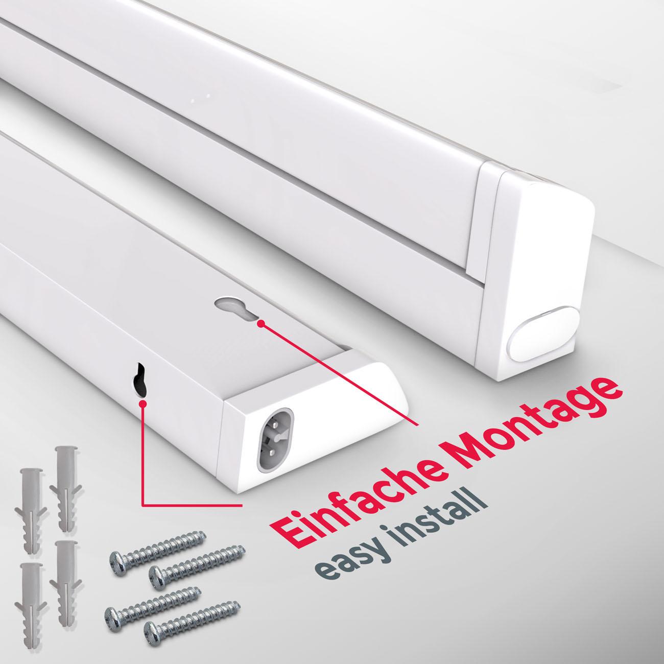 LED CCT Lichtleiste Unterschrankleuchte weiß - 6