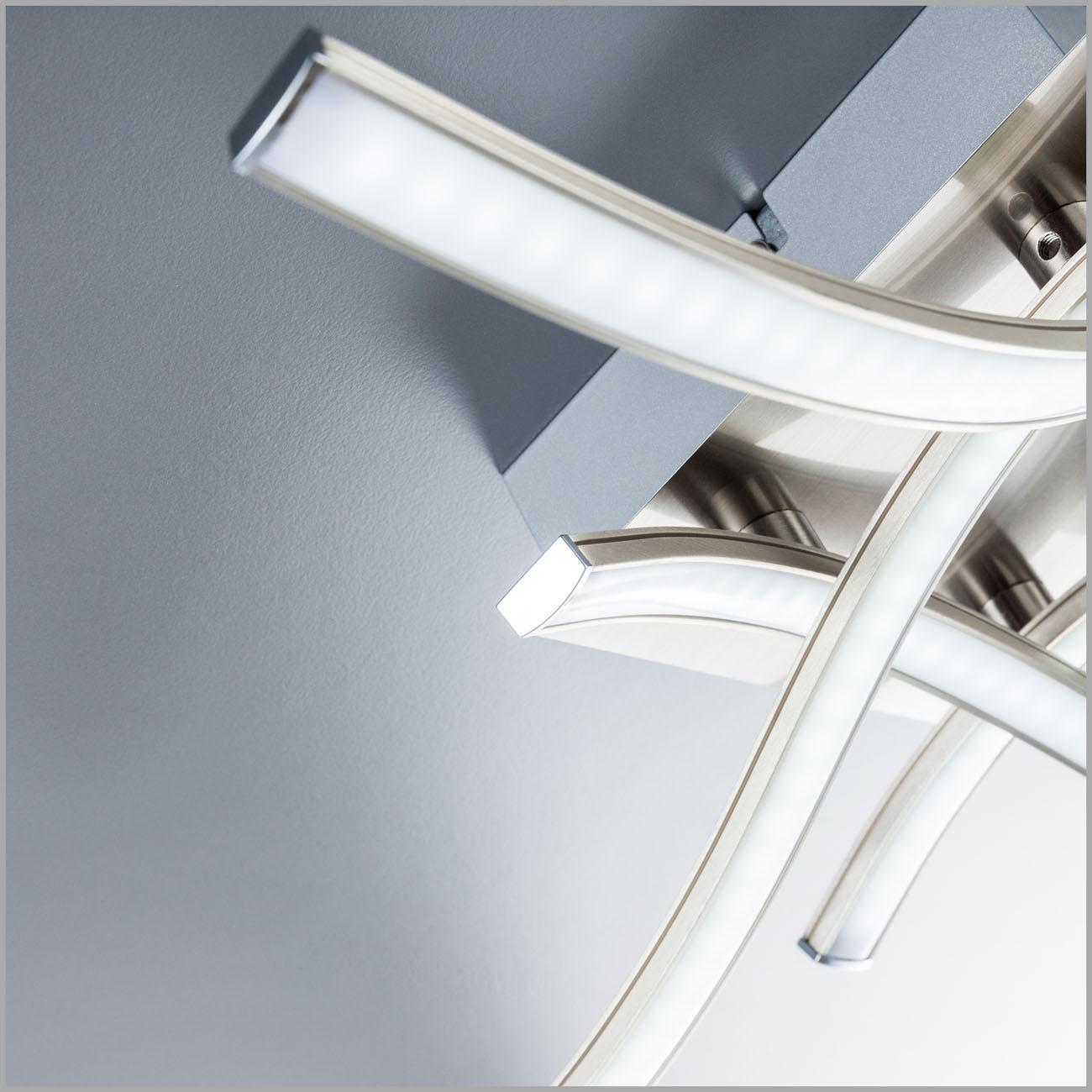 LED Design Deckenleuchte Wellenform 4-flammig  - 4