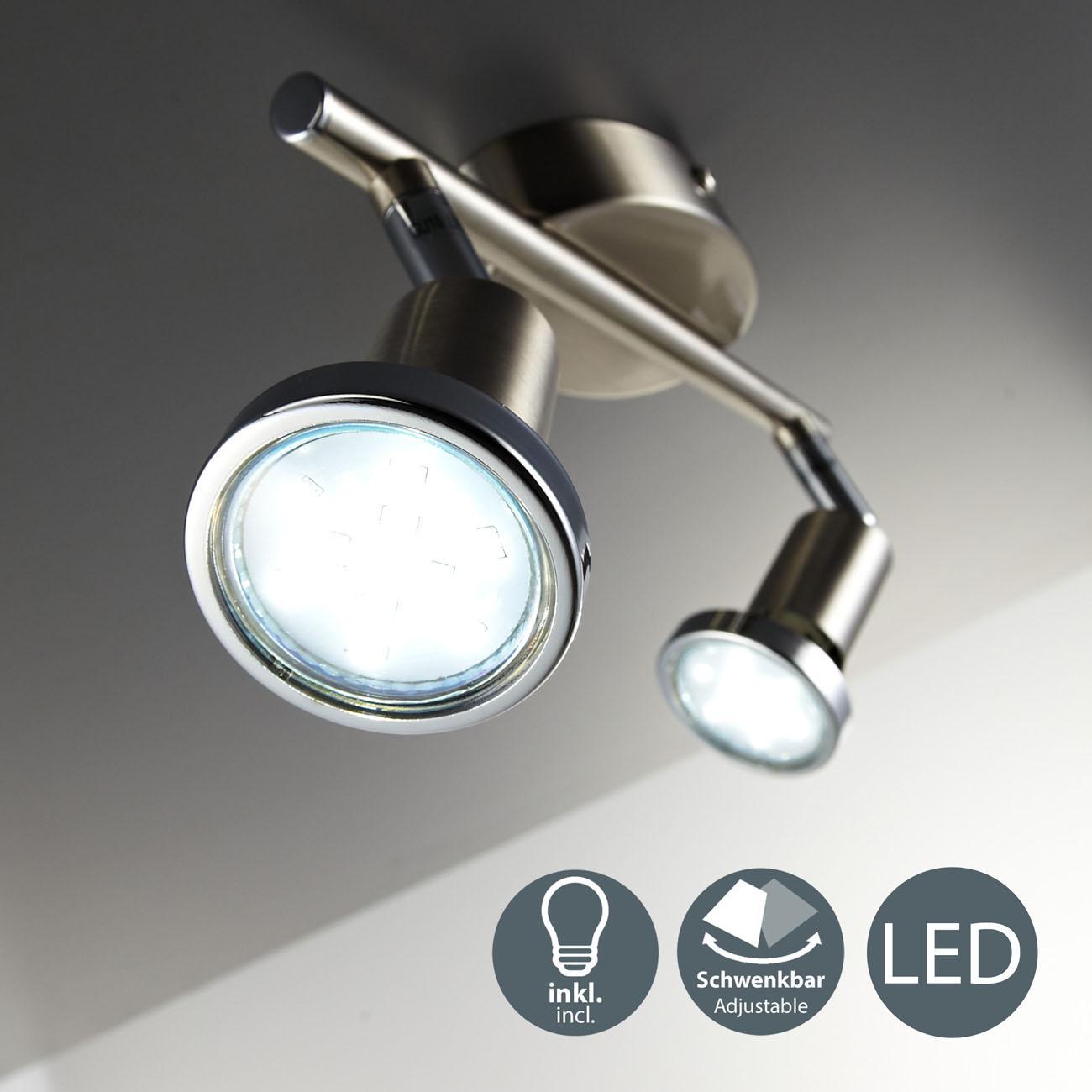 LED Deckenstrahler 2-flammig - 3