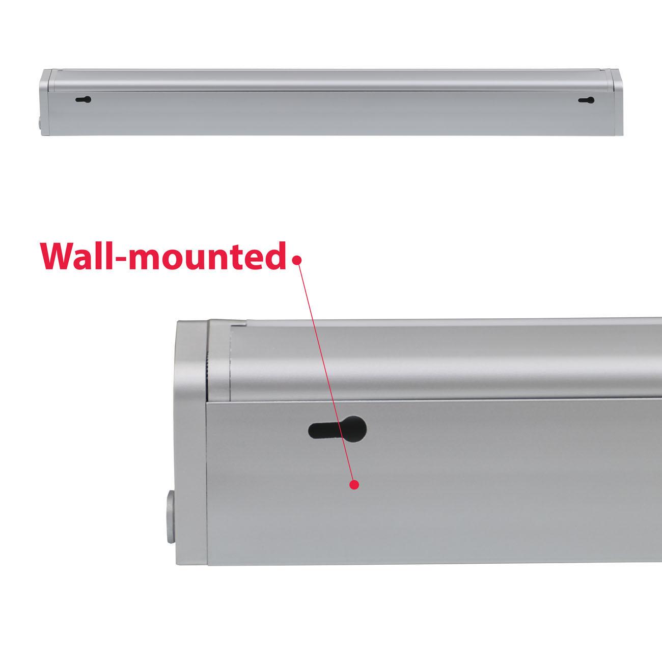LED Schrankleuchte Unterbauleuchte silber-grau - 7
